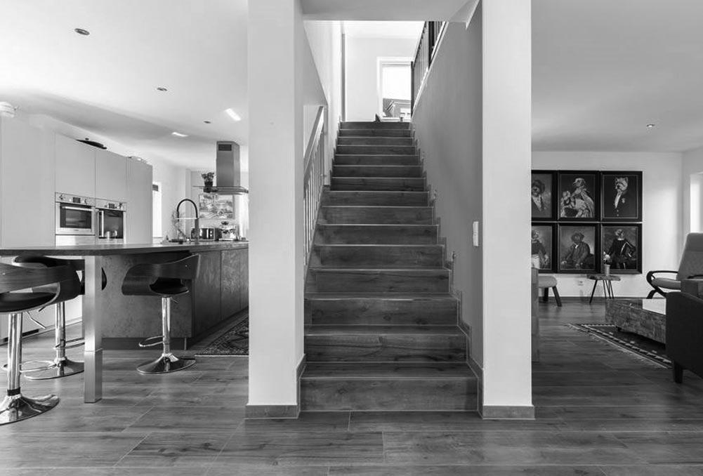 Objektbild: weißes einfamilienhaus - eickeshagener talblick