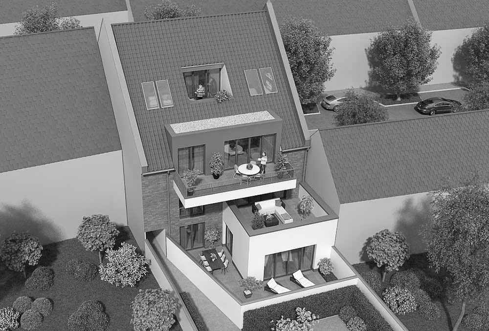 Objektbild: neues wohnen - im alten dorf am rhein